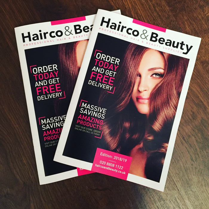 Hairco and Beauty product catalogue