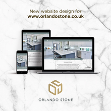 New logo and website design for Orlando Stone