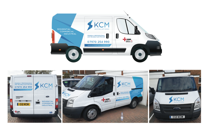 KCM Vehicle Branding