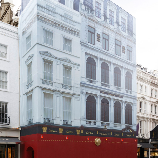 Cartier - Building Wrap