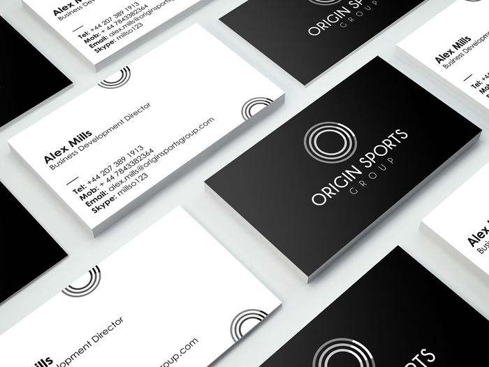 Origin Sports Group Branding