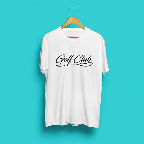 Golf Club T-shirt - White