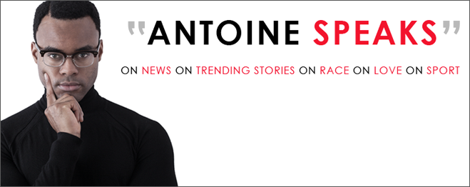 Antione Speaks Website Design