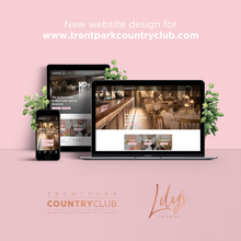 New website design and build for Trent Park Country Club