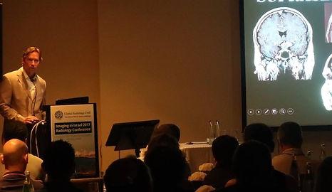 Dr. Blake Johnson speaking at Imaging in Israel 2017