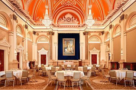 Dublin Westin Banking Hall - Dinner Setup