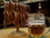 Street food in Prague Famous Prague Beer and Pretzels