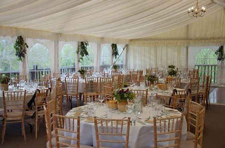 The Cherwell Boathouse Marquee
