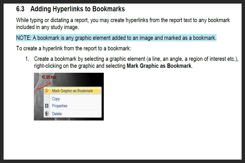 Add Hyperlinks to Carestream Reports