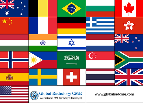 Imaging in Israel 2017 Registrants Country Flags