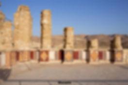 Masada-Herod's palace.