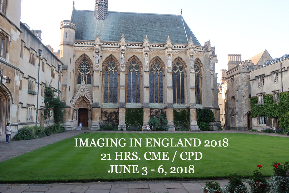 Imaging in England 2018