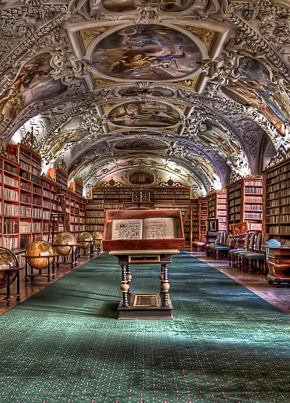 Prague Strahov Monastery Library