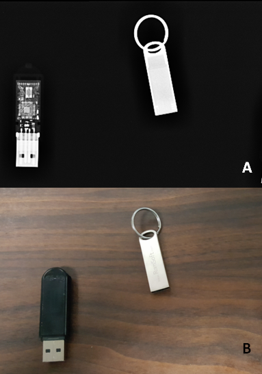 Xray of USB Flash Drives