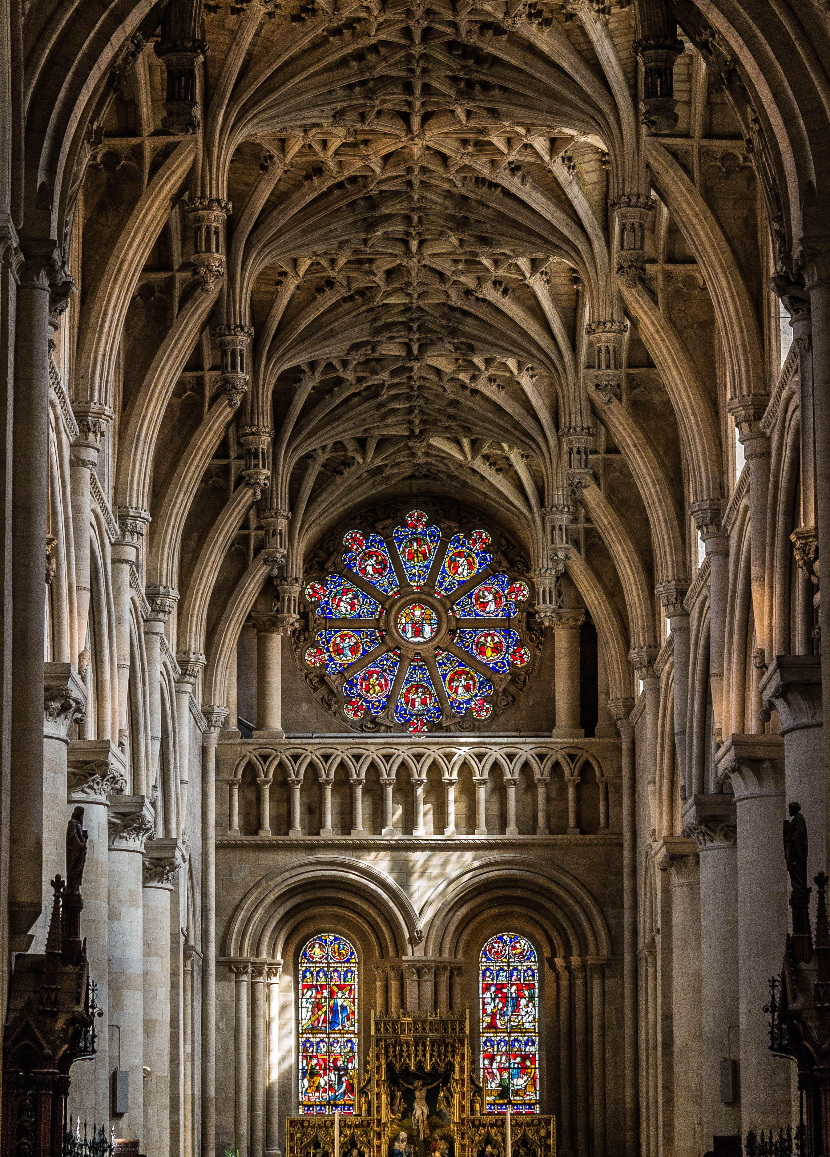 Cathedral at Christchurch College Oxford UK-Jeremy Sorrells