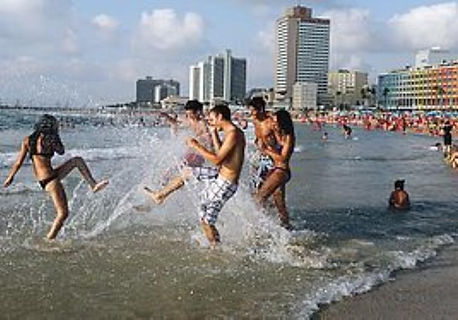 Fun in the Sun - Tel Aviv Beach