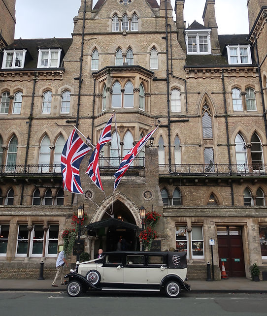 Macdonald Randolph Hotel in Oxford, UK - Photo by Kevin Rice, MD