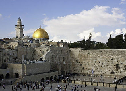 International CPD in Israel. Western wall plaza. Old city of Jerusalem