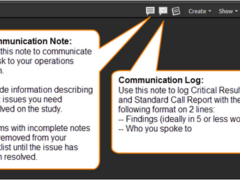 Clario zVision Communication Notes Tips