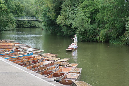 Oxford's Cherwell Boathouse