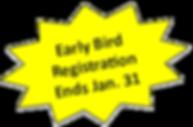 Registration Ends Star