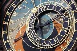 Prague Ancient Clock