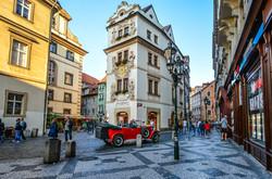 Prague Street scene1