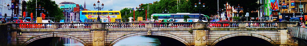 Bridge in Dublin Ireland