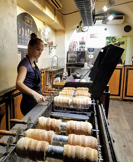 Prague Street Food-Trdelník- Photo by Kevin Rice