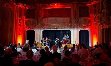 Mozart Dinner, Prague by Roman Boed