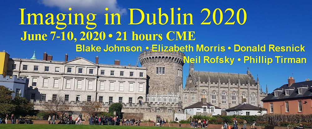 Imaging in Dublin June 2020 - Radiology education in Ireland
