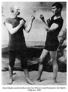 Theodore Roosevelt boxing