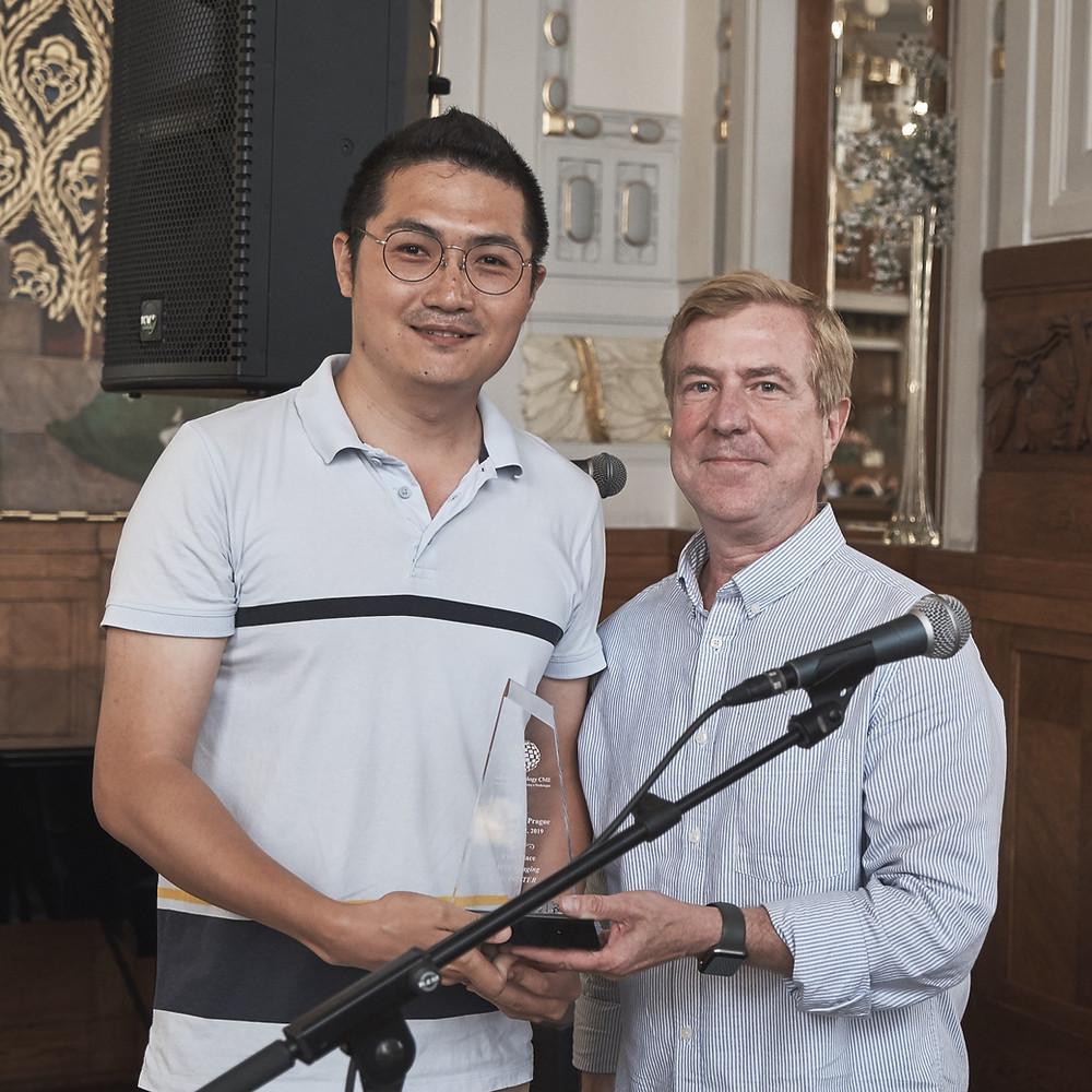Junsiyuan Li and Phillip Tirman iip2019 MSK E-Poster Award