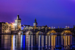 Prague-Charles Bridge View from Vltava