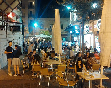 Mahane Yehuda Cafe - Photo by Kevin Rice