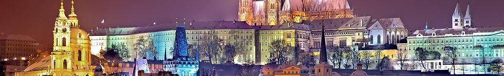 Prague Castle at Night - Imaging in Prague 2019