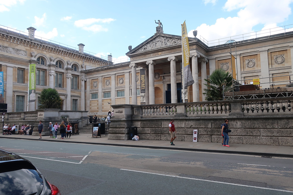 Ashmolean Museum Entrance - Photo by Kevin Rice