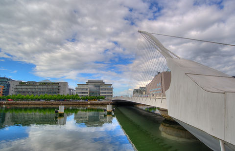 Dublin Harp Bridge