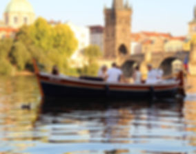 Boating on the Vltava