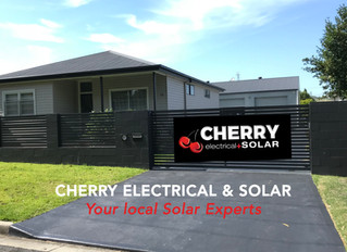 Cherry Electrical+Solar are now on FB