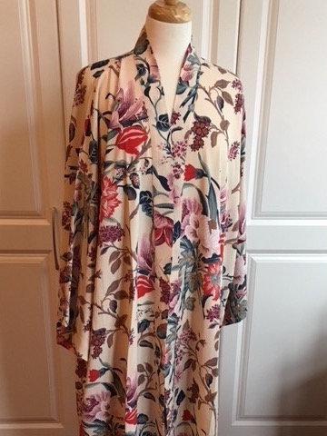 Full length kimono coat