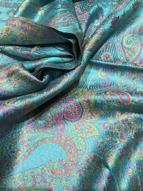 Jacquard super silk scarf