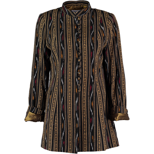 Ikat Cotton Jacket from Hydrebad