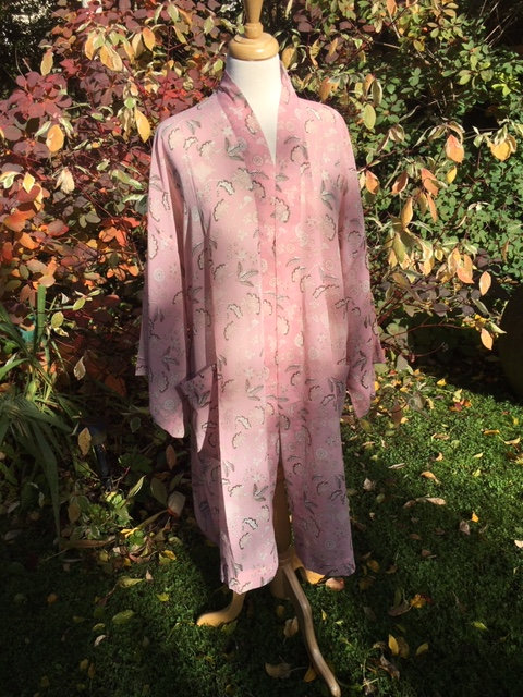 Georgette dressing gown