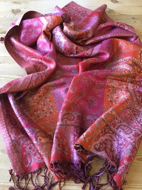 Indian silk stole