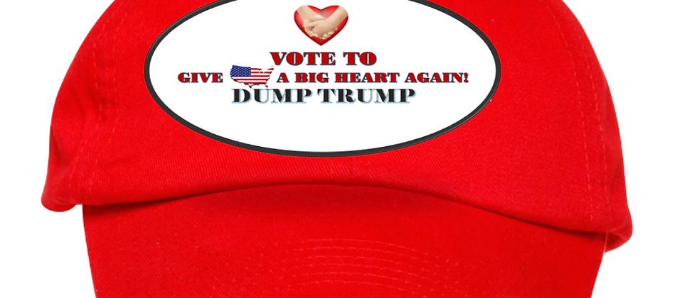 Vote To Give America A Big Heart Again