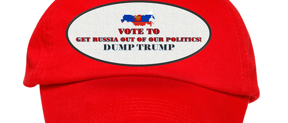 Vote To Get Russia Out Of Our Politics--Dump Trump