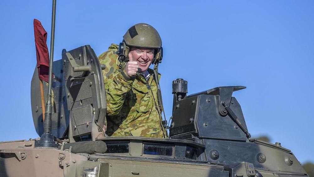 Dick in a tank