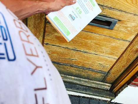 leaflet distribution in surbiton