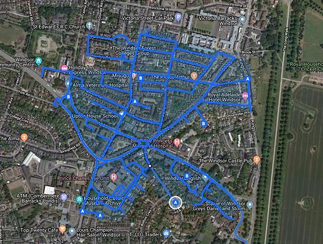Leaflet Distribution in Weybridge.png